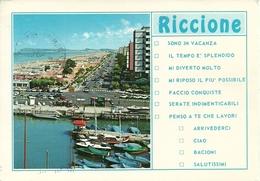 Riccione (Rimini) Scorcio Panoramico - Rimini