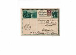 CTN52C - SUISSE EP CP AU DEPART DE GENEVE A DESTINATIN DE MAMOU - GUINEE FRANCAISE 16/9/1931 - Entiers Postaux
