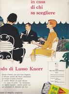 (pagine-pages)PUBBLICITA' KNORR Successo1960/06. - Libri, Riviste, Fumetti