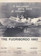 (pagine-pages)PUBBLICITA' FUORIBORDO PIRELLI Successo1960/06. - Libri, Riviste, Fumetti