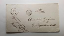 1874 Storia Postale - Lettera Del Sindaco Di San Bonifacio Riguardante La Soppressione Di Una Strada - Manuscripts