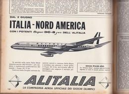 (pagine-pages)PUBBLICITA' ALITALIA Successo1960/06. - Libri, Riviste, Fumetti