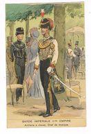 Uniforme.Empire. Garde Impériale .Chef De Musique. Illustrateur.Maurice Toussaint  ( T.u.257) - Uniforms
