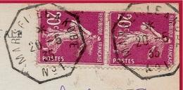 Marcophilie Poste Maritime : Cachet MARSEILLE à KOBE N° 1 Sur CPA Paquebot S.S. ATHOS II Des Messageries Maritimes - Marcophilie (Lettres)