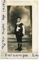 - Carte Photo - Un Beau Communiant, Photo Argenton, ( Indre ), Splendide, Chapelet, Non écrite,TBE, Scans.. - Portraits
