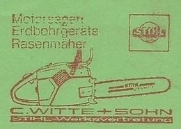 EMA METER FREISTEMPEL GERMANY STADTHAGEN CHAISAW SAW Tronçonneuse Motosega 1980 - Agriculture