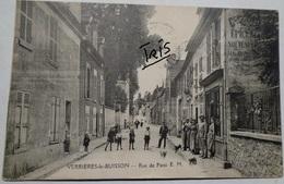 CPA-BB190 - VERRIERES-LE-BUISSON - RUE D PARIS E.M. - Verrieres Le Buisson