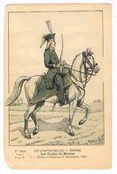 Uniforme.Empire. Les Guides De Mortier . Illustrateur.Bucquoy    ( T.u.261) - Uniformes