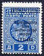 SLOVENIA - ITALIA - YUGOSLAVIA - LUBIANA - PORTO - R.COMMISSARIATO Sa. 13. - (*) - 1941 - Slovénie