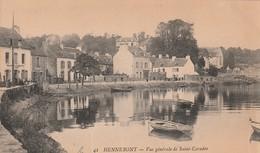 Rare Cpa Hennebont Vue Générale De St Caradec - Hennebont