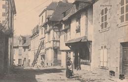 Rare Cpa Hennebont Grande Rue Ville Close - Hennebont