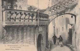 Rare Cpa Hennebont La Passerelle De La Rue Launay - Hennebont