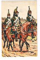 Uniforme.Empire. Dragon De La Garde Impériale 1809. Illustrateur ?Armée   ( T.u.265) - Uniformes