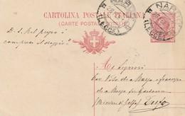 Nardò.1917. Annullo Guller NARDO' (LECCE), Su Cartolina Postale Con Testo. - 1900-44 Vittorio Emanuele III