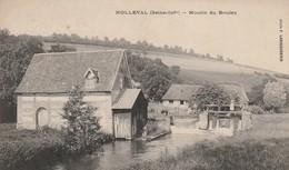 Rare Cpa Nolleval Moulin Du Boulay - France