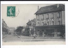 Dept 93. LE BOURGET. Avenue De La Gare. Belle Vue Sur Hôtel ++ Petite Animation + - Le Bourget