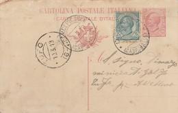 Cercepiccola.1919. Annullo Guller CERCEPICCOLA (CAMPOBASSO), Su Cartolina Postale Con Testo - 1900-44 Vittorio Emanuele III
