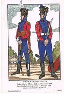 Uniforme. DANEMARK 1809/13. Fubartillerie Kanonier.  Illustrateur: G.S  ( T.u.269) - Uniformes