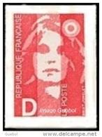 France Marianne Du Bicentenaire N° 2713 ** Ou Autoadhésif  N° 2 - Briat - Lettre D = 2.50 Rouge - 1989-96 Marianne Du Bicentenaire