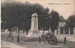 Rare Cpa Rubempré Le Monument Aux Morts Avec Canon - France