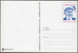 1999-EP-215 CUBA 1999 ERNEST HEMINGWAY UNCATALOGUED POSTAL STATIONERY ERROR. - Cuba