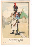 Uniforme.Empire. Le 3éme De Ligne 1809/1810.  Illustrateur: LAVAL ( T.u.271) - Uniformes