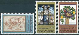 New-Zealand 1977 - Christmas ( Mi 728/30 - YT 698/700 ) MNH** Complete Issue - Nouvelle-Zélande
