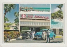 2012-EP-23 CUBA 2012 TURISTIC FORWARDED POSTAL STATIONERY. MATANZAS, SOL PALMERA HOTEL. - Cuba