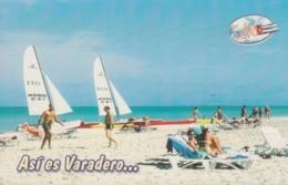2014-EP-3 CUBA 2014 TURISTIC POSTAL STATIONERY. VARADERO BEACH UNUSED. - Cuba