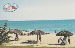 2014-EP-4 CUBA 2014 TURISTIC POSTAL STATIONERY. CUBAN BEACH UNUSED. - Cuba