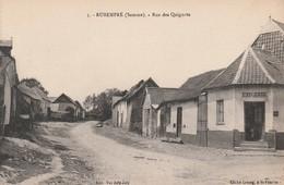 Rare Cpa Rubempré Rue Des Quignots Avec épicerie - France