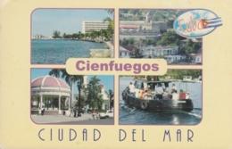 2014-EP-8 CUBA 2016 TURISTIC FORWARDED POSTAL STATIONERY. CIENFUEGOS USED. - Cuba