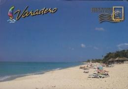 2014-EP-19 CUBA 2014 CANADA FORWARDED TURISTIC POSTAL STATIONERY. VARADERO. USED. - Cuba
