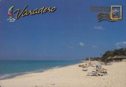2014-EP-20 CUBA 2014 FORWARDED TURISTIC POSTAL STATIONERY. VARADERO. USED. - Cuba