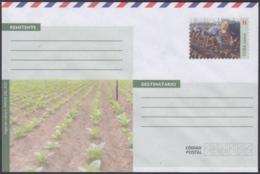 2018-EP-26 CUBA 2018 UNUSED P NACIONAL OSTAL STATIONERY. AGRICULTURA AGRICULTURE. - Cuba