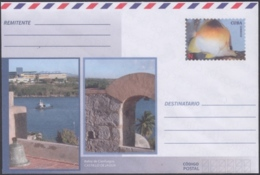 2018-EP-28 CUBA 2018 UNUSED NACIONAL POSTAL STATIONERY. JAGUA CASTLE CIENFUEGOS, FISH. - Cuba