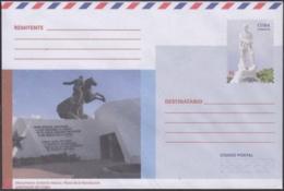 2018-EP-32 CUBA 2018 UNUSED NACIONAL POSTAL STATIONERY. SANTIAGO DE CUBA, PLAZA ANTONIO MACEO. - Cuba