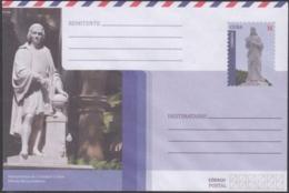 2018-EP-35 CUBA 2018 UNUSED NACIONAL POSTAL STATIONERY. MONUMENTO A COLON, CRISTO DE CASABLANCA - Cuba