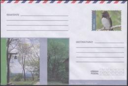 2018-EP-37 CUBA 2018 UNUSED NACIONAL POSTAL STATIONERY. SIERRA DEL ROSARIO, AVE, BIRD. - Cuba