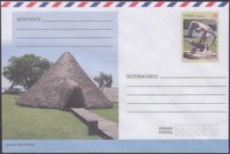 2018-EP-43 CUBA 2018 UNUSED NACIONAL POSTAL STATIONERY. GUAMA, INDIAN, ABORIGENES. - Cuba