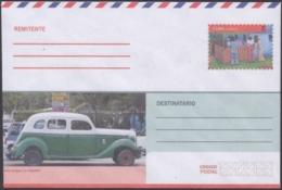 2018-EP-46 CUBA 2018 UNUSED INTERNACIONAL POSTAL STATIONERY. OSMOVILE OLD CAR. - Cuba