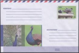 2018-EP-50 CUBA 2018 UNUSED INTERNACIONAL POSTAL STATIONERY. PAVO REAL, PALOMA, PIGEON, BIRD. - Cuba