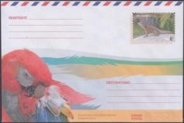 2018-EP-54 CUBA 2018 UNUSED INTERNACIONAL POSTAL STATIONERY. GUACAMAYO PARROT BIRD, AVES, PAJAROS. - Cuba