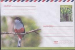 2018-EP-57 CUBA 2018 UNUSED NACIONAL POSTAL STATIONERY. TOCORORO BIRD, AVES, PAJAROS. - Cuba