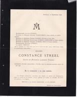 NOVILLE Constance STREEL Veuve Lambert FRENAY 71 Ans 1898 Famille BECO GREGOIRE ELIAS - Overlijden