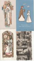 Communion Solennelle: Lot De 4 Souvenirs De Jamioulx - Communion