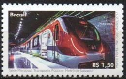 Brasil 2017 ** Serie MERCOSUR. Transportes Públicos. Metro De Salvador. See - Brésil