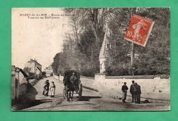 02 Aisne Rozet Saint Albin Route De Neuilly ( Carte Avec Leger Pli Vertical Voir Scans Vendue Dans L ' Etat ) - France