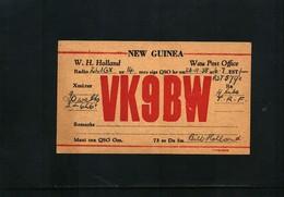 Papua New Guinea 1938 Amateur Radio Interesting Postcard - Papouasie-Nouvelle-Guinée