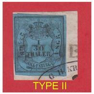 GERMANY -- ALLEMAGNE -- OLDENBURG --MITCHEL N° 2 TYPE II SUR FRAGMENT-- - Oldenbourg